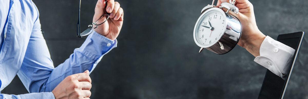 Seu problema é falta de tempo? 4 dicas para otimizar a gestão da sua empresa