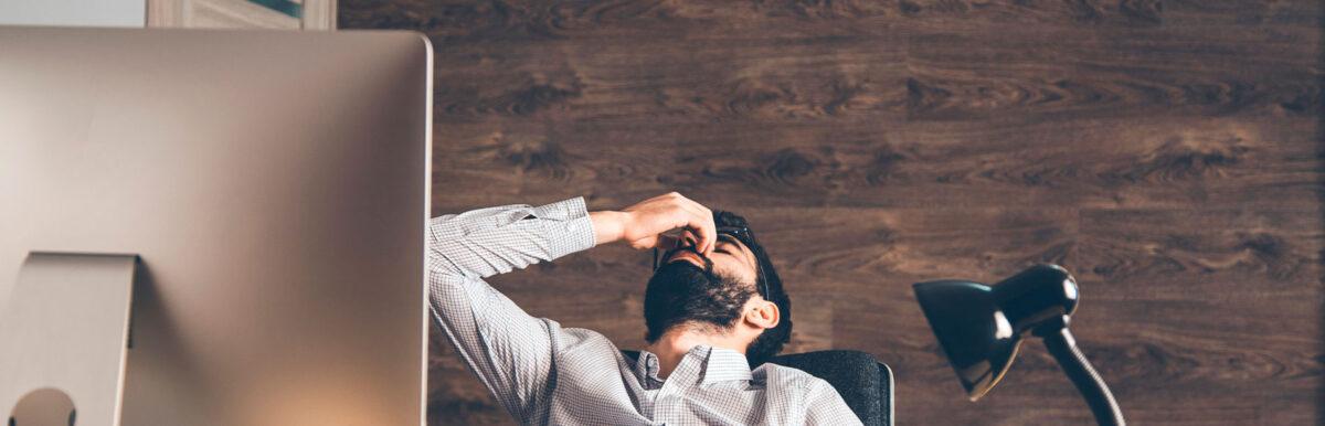Exaustão emocional: 3 motivos que podem estar te aprisionando ao seu negócio